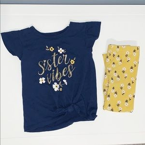 Carters Toddler Girl Outfit set